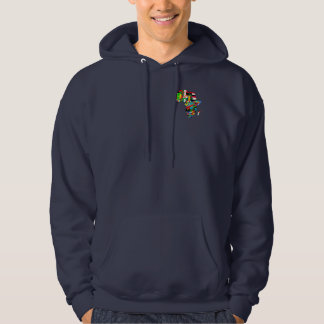 Flag Map of Africa Flags - African Culture Gift Hoodie