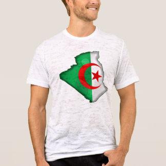 Flag Map of Algeria for Algerians worldwide T-Shirt