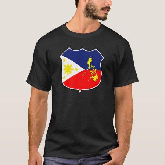 Flag & map T-Shirt