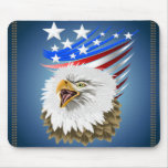 Flag N Eagle Mousepad