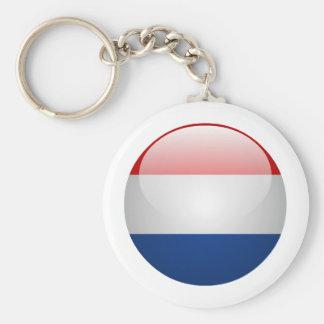 Flag Netherlands Key Chains
