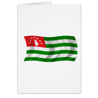 Flag of Abkhazia Card