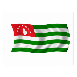 Flag of Abkhazia Postcard