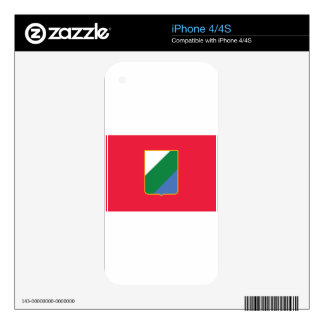 Flag_of_Abruzzo iPhone 4 Skin