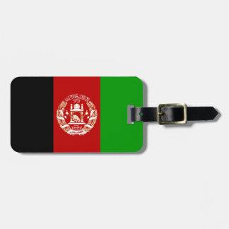 Flag of Afganistan Easy ID Luggage Tag