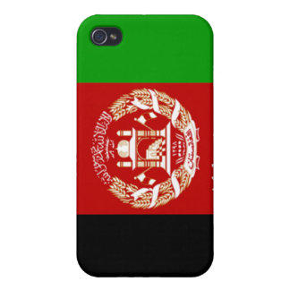 Flag of Afghanistan iPhone 4/4S Cases