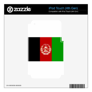 Flag_of_Afghanistan iPod Touch 4G Skins