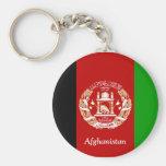 Flag of Afghanistan Key Chains