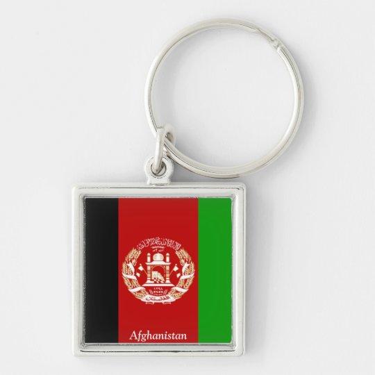 Flag of Afghanistan Keychain
