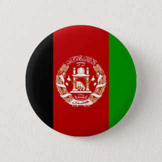 Flag of Afghanistan Pinback Button