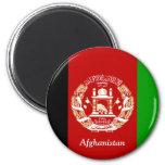 Flag of Afghanistan Refrigerator Magnet