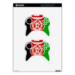 Flag of Afghanistan Xbox 360 Controller Skins