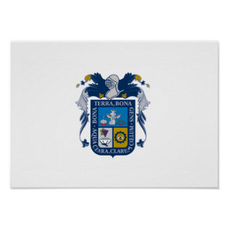Flag of Aguascalientes Poster