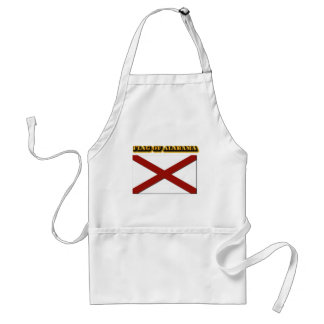 Flag of Alabama Adult Apron
