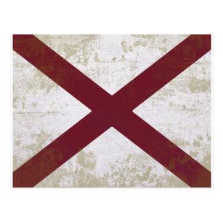 FLAG OF ALABAMA POSTCARDS