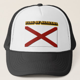Flag of Alabama Trucker Hat