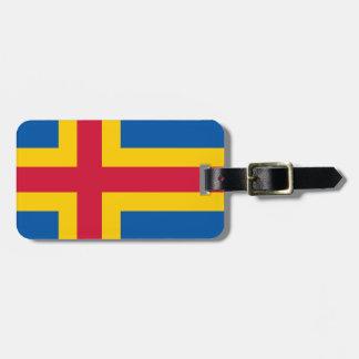 Flag of Åland Bag Tag