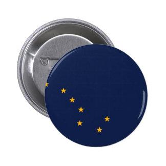 Flag of Alaska Button