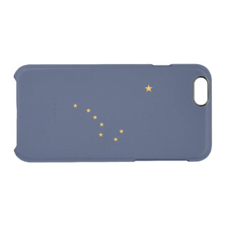 Flag of Alaska Clear iPhone Case