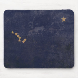 FLAG OF ALASKA MOUSE PAD