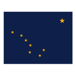 Flag of Alaska Postcard