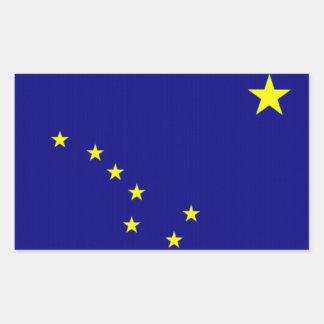 Flag of Alaska Rectangular Sticker