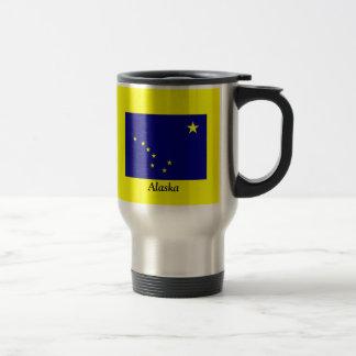 Flag of Alaska Travel Mug