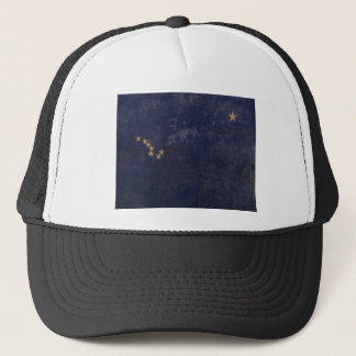 FLAG OF ALASKA TRUCKER HAT