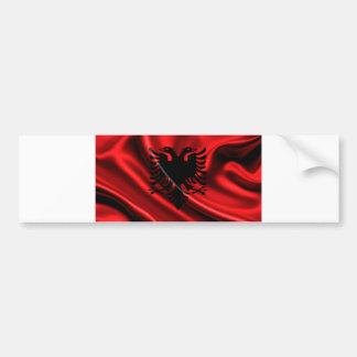 Flag of Albania, Albanian Flag Bumper Sticker