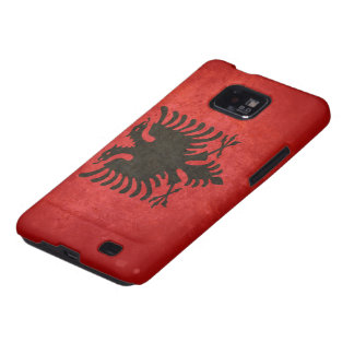 Flag of Albania Galaxy S2 Covers