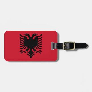 Flag of Albania Easy ID Luggage Tag