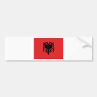 Flag of Albania - Flamuri i Shqipërisë Bumper Sticker