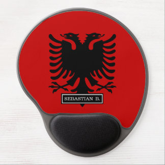 Flag of Albania Gel Mouse Pad