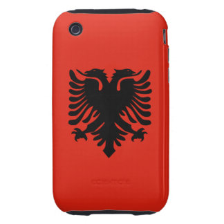 Flag of Albania iPhone 3 Tough Cover
