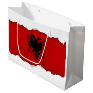Flag of Albania Large Gift Bag