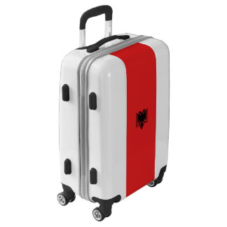 Flag of Albania Luggage (Carry-On)