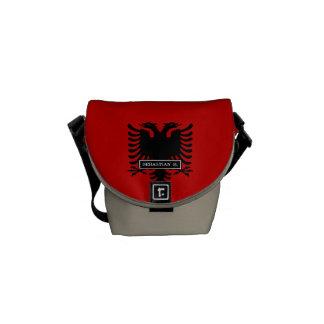 Flag of Albania Messenger Bag