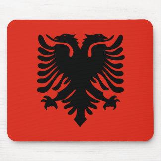 Flag of Albania Mouse Pad