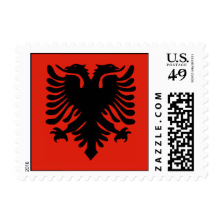 Flag of Albania Postage