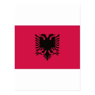 Flag of Albania Postcard