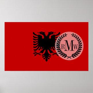 Flag of Albania Poster
