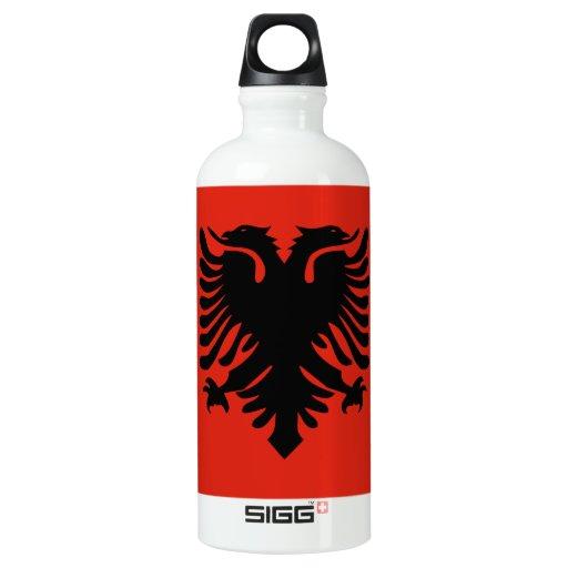 Flag of Albania SIGG Traveler 0.6L Water Bottle