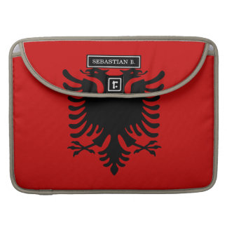 Flag of Albania Sleeve For MacBook Pro