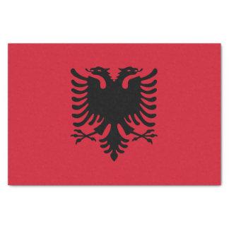 Flag of Albania Tissue Paper