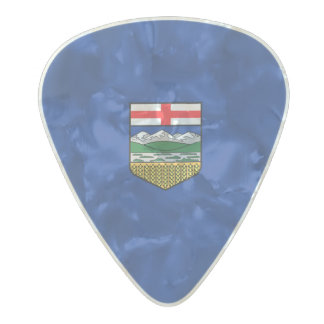 Flag of Alberta Guitar Picks