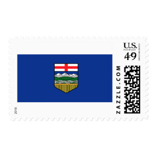 Flag of Alberta Postage Stamps