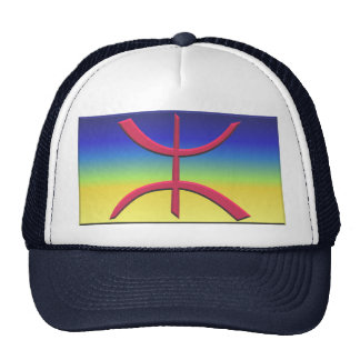 Flag of Amazigh and Kabyle Trucker Hat