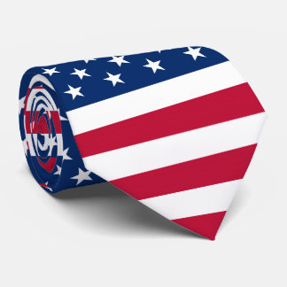Flag of America American Army USA Neck Tie