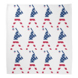 Flag of America Baseball American Bandana