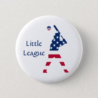 Flag of America Baseball American Button